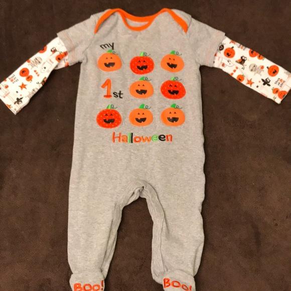 babys 1st halloween sleeper euc